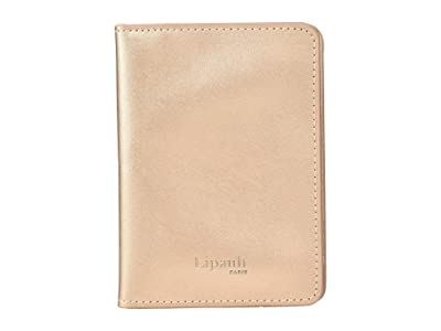 Lipault Paris Miss Plume Passport Cover (Pink Gold) Wallet