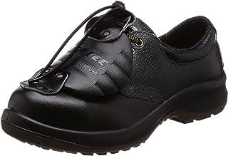 [ミドリ安全] 静電安全靴 JIS規格 甲プロテクタ付き 短靴 プレミアムコンフォート PRM210 甲プロ MII ゴム紐 静電 メンズ