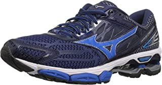 Mizuno Mens Wave Creation 19 Running Shoe Blue Size: