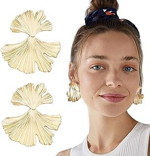 Drop Earrings Acrylic Resin Lightweight Earrings Oval Pendant Earrings for Women