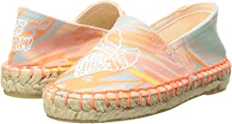 Rae Marble Print Espadrilles w/ Ice Cream Cones (Toddler/Little Kid/Big Kid)