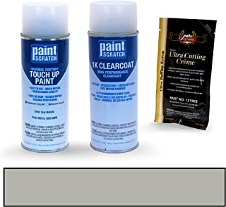 PAINTSCRATCH Silver Grey Metallic A08 for 2009 BMW X3 - Touch Up Paint Spray Can Kit - Original Factory OEM Automotive Paint - Color Match Guaranteed