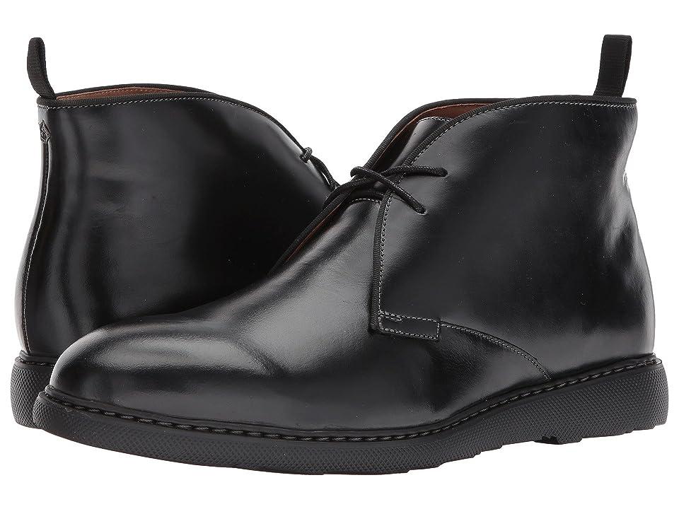 Bostonian Cahal Mid (Black Leather) Men