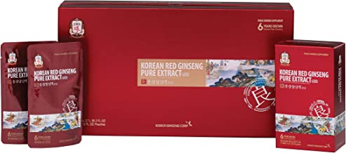 KGC Cheong Kwan Jang [Korean Red Ginseng Pure Extract Good] Decoction Made With 6 Year Old Korean Red Ginseng - 30 Count