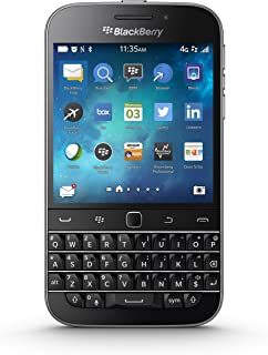 BlackBerry Classic Factory Unlocked Cellphone, Black