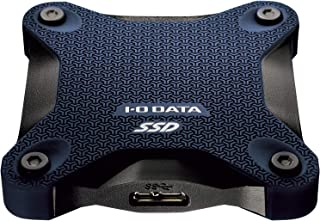 I-O DATA ポータブルSSD 480GB 小型 USB3.1(Gen1) 耐衝撃 Mac PS4 バスパワー対応 SSPH-UA480NV/E