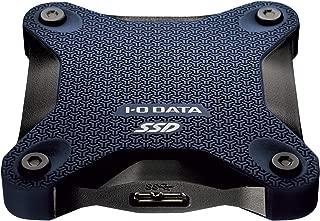 I-O DATA ポータブルSSD 960GB 小型 USB3.1(Gen1) 耐衝撃 Mac PS4 バスパワー対応 SSPH-UA960NV/E