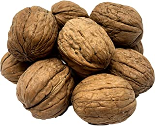 NUTS U.S. - Walnuts In Shell | Grown and Packed in California | Jumbo Size and Chandler Variety | Fresh Buttery Taste and Easy to Crack | Non-GMO and Raw Walnuts in Resealable Bags!!! (6 LBS)