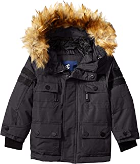 Rocawear Boys' Heavy Long Parka Jacket