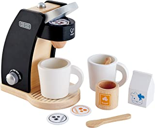 Hape Coffee Time for Two Wooden Coffee Maker Play Kitchen Set