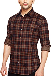 eadf627da8 Browns Men's Shirts: Buy Browns Men's Shirts online at best prices ...
