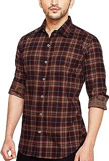 Go Stylish Mens Checks Casual Shirt (GS-8025 Red Checks)