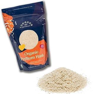 Sponsored Ad - Certified Organic Whole Psyllium Husk, Non-GMO, India (1 Pound, 16 Ounces)