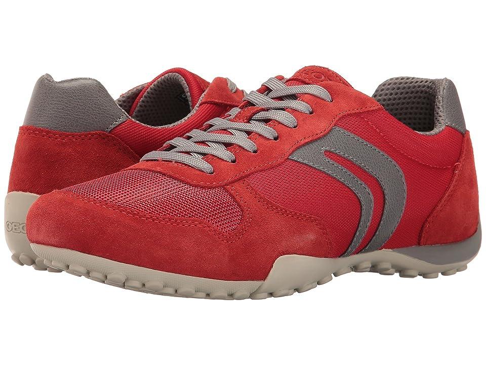 Geox M SNAKE 118 (Red/Grey) Men