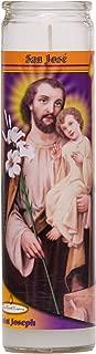 St Joseph Religious Prayer Candle / San José Novena Vigil Candle