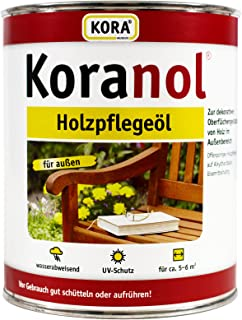 0,75L Koranol Holzpflegeöl Bangkirai Aussenöl UV-Schutz Holzschutz Öl