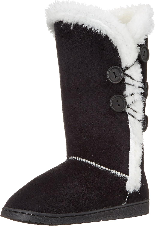 DAWGS Women's 13 Inch 5 Button Microfiber Winter Boot