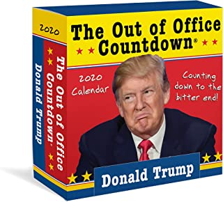 2020 Donald Trump Out of Office Countdown Boxed Calendar: Counting down to the bitter end!