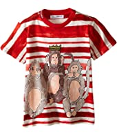 Dolce & Gabbana Kids - 3 Monkeys T-Shirt (Infant)
