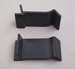 patio table glass top clips