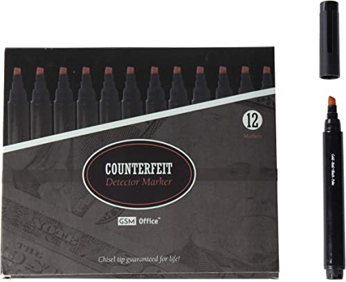 new arrival Counterfeit online Money online Bill Detector Pens, Markers - Detects Fake Currency - 12 Pack online sale