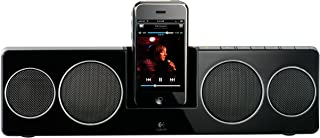 $54 » Logitech Pure-Fi Anywhere 2 Compact Docking Speakers for iPod and iPhone (Black) (Renewed)