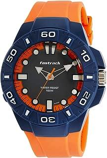 Fastrack Trendies Analog Blue Dial Men's Watch - 38043PP03