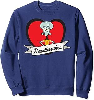 Spongebob Squarepants Squidward Heartbreaker Sweatshirt
