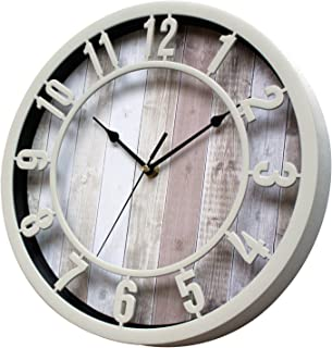 Best distressed wood wall clock Reviews