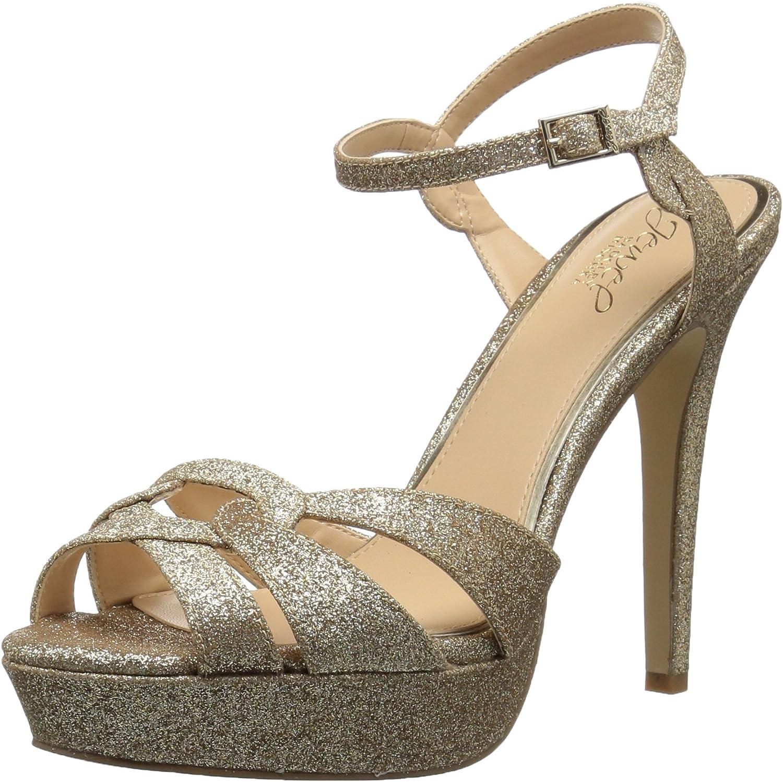 Badgley Mischka Womens Alysa Heeled Sandal