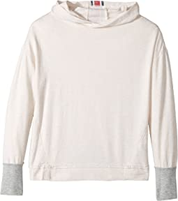Splendid Littles - Speckle Baby French Terry Hoodie Sweatshirt (Big Kids)