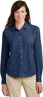 Port & Company Long Sleeve Value Denim Shirt (LSP10)