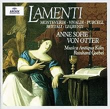 Anne Sofie von Otter - Lamenti Monteverdi, Vivaldi, Purcell, Bertali, Legrenzi Goebel