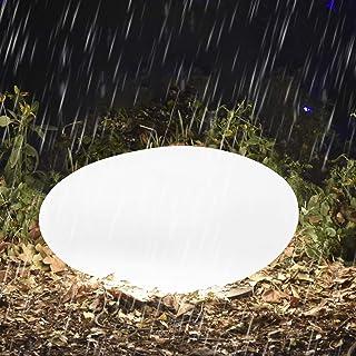 Homever Luci Solare per giardino, Luci solari da esterno con Telecomando, Luci da giardino solari da 40 cm, per Natale, St...