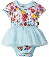 Rock Your Baby - Nothing But Flowers Short Sleeve Circus Dress (Infant)