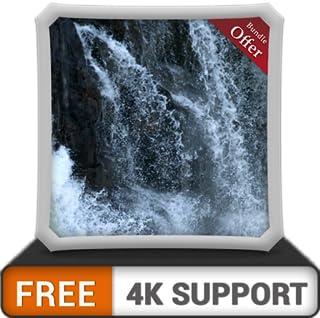 cachoeira free motion HD - decore seu quarto com belas paisagens na sua TV HDR 4K, TV 8K e dispositivos de fogo como papel de parede, decoração para as férias de Natal, tema para mediação e paz