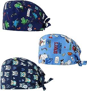 قبعة العمل المطورة جرينيك فاسيف 3 قطع مع زر ، قابلة للتعديل التعادل الخلفي القبعات مع العصابة للنساء / الرجال
