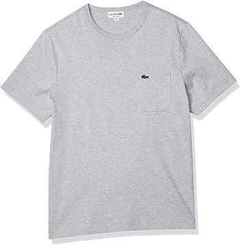 [ラコステ] TEE SHIRTS [公式] ベーシッククルーネックポケットTシャツ (半袖) メンズ