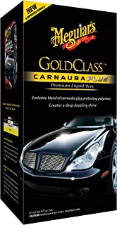 Meguiar's G7016 Gold Class Carnauba Plus Premium Liquid Wax, 16 Fluid Ounces