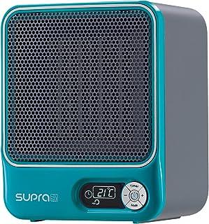 Supra 1527 Ceram - Calefactor de aire con pantalla digital, color turquesa