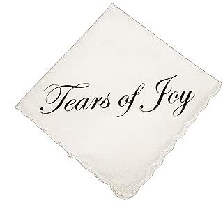 Tears of Joy Wedding Handkerchief by Wedding Tokens- Perfect Wedding Keepsake