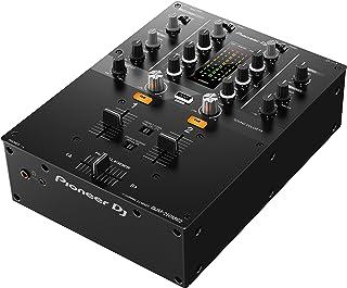 Pioneer DJM-250MK2 2 2 canales 20-20000Hz Negro mesa de mezclas de audio (2 canales, 48 kHz, 20-20000 Hz, 94 dB, 0,005%, 230 mm)
