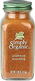 Simply Organic Certified Seasoning, Southwest, 3.98 Ounce