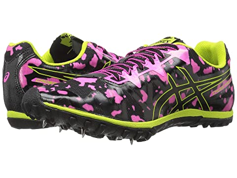 Asics , HOT PINK/BLACK/NEON LIME