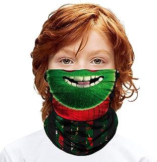 Multifunctional Headwear Bandana for Children (6-14 Years Old) - Grinch
