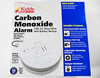 Kidde - 900-0120 - AC Wire-In Carbon Monoxide Alarm