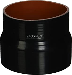6 Length HPS HTSHC-125-L6-BLK Silicone High Temperature 4-ply Reinforced Straight Hump Coupler Hose Black 6 Length 1.25 ID HPS Silicone Hoses 80 PSI Maximum Pressure 1.25 ID