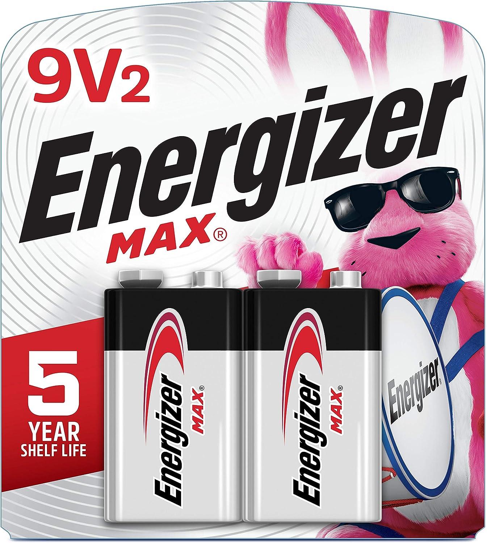 Energizer Max 9V Batteries