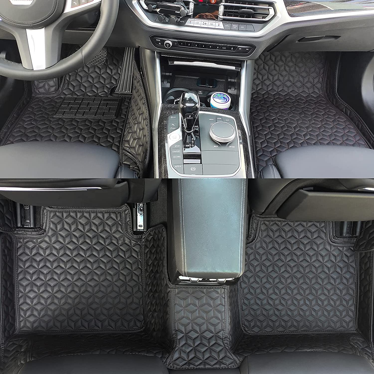 Muchkey Upgrade PU Leather Car Floor Mats fit 20 Limited time for free shipping B X5 E53 MW Max 80% OFF for