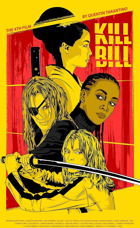 Max 63% OFF Kill Bill Poster Popular brand Print Wall Fil Posters Art for Artwork